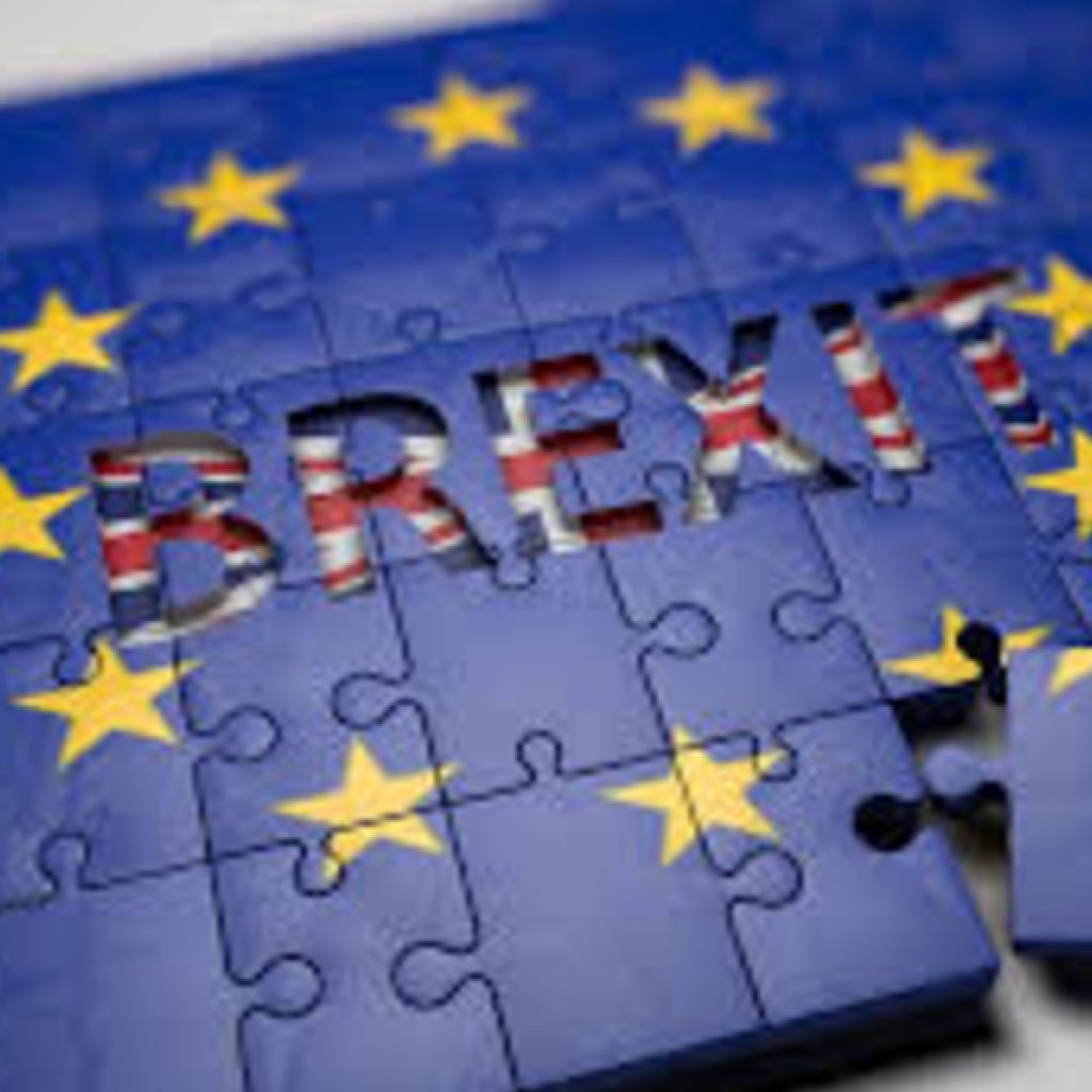 A puzzle with the word Brexit spelled across it