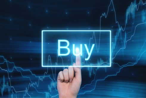 buy button increase stock prices